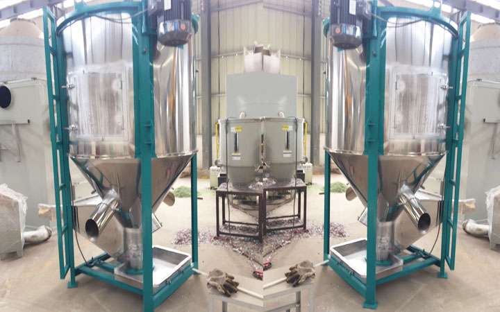 Stainless steel stirring dryer