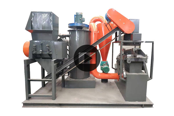 150kg per hour copper wire granulator