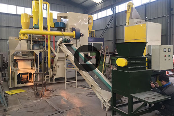 300kg per hour pcb board recycling machine