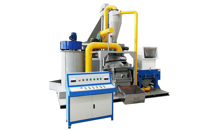 Aluminum and Copper wire recycling machine
