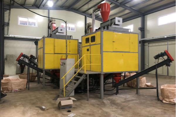 200kg per hour ABS/PS/PP high voltage electrostatic separation