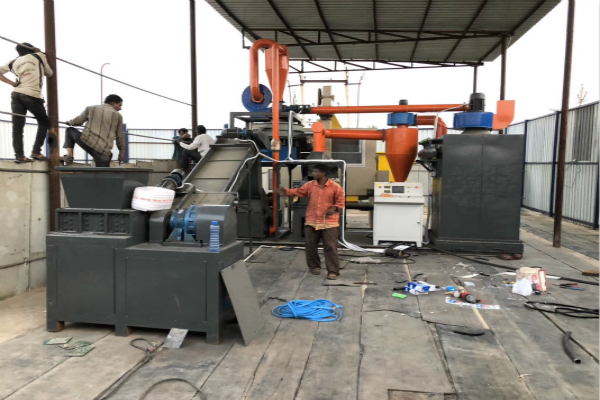 New PCB circuit board recycling machine in India