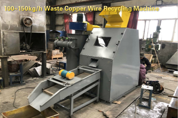 How to identify the quality of the waste cable granulator?