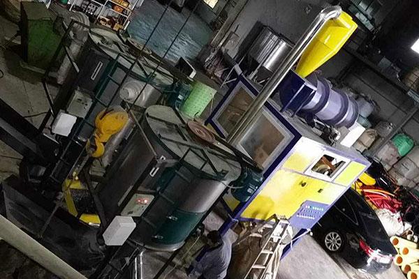 Mixed plastics electrostatic separation machine in Mongolia
