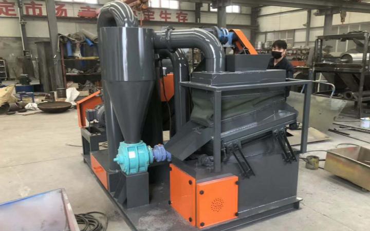 Waste Copper Aluminum Wire Granulator Shipped to India