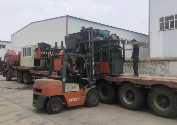 ALUMINUM AND COPPER WIRE RECYCLING MACHINE SHIPPING TO USA