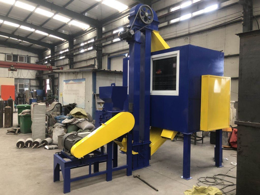 Waste cable wire recycling machine ready for shipment