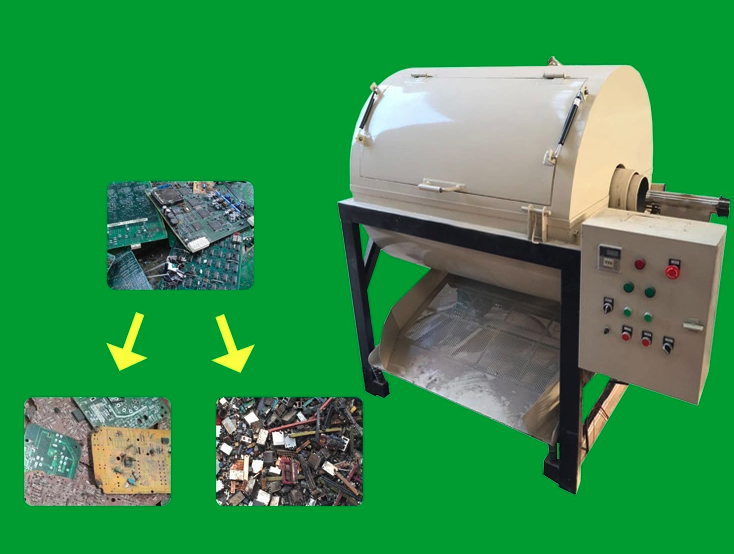 How to get precious metal from PCB by dismantling machine with low cost?