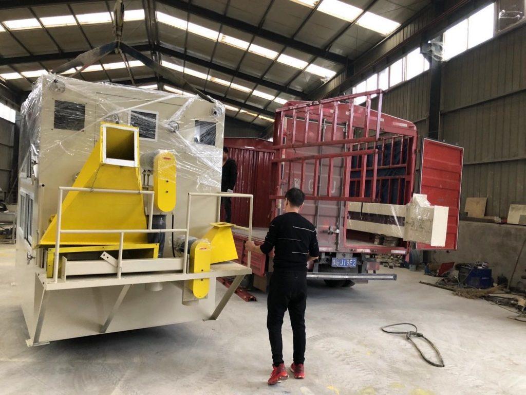 High voltage electrostatic separator 1500kg per hour shipped to Australia