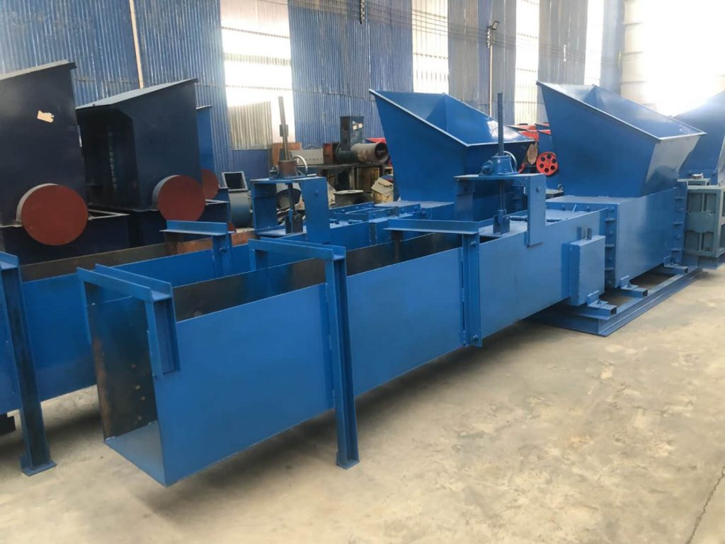 Foam briquette machine