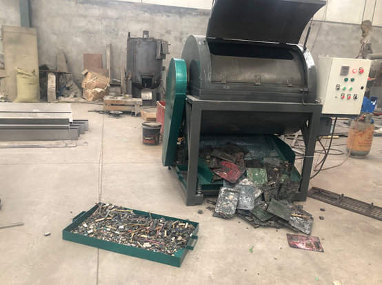 Hot Sale Waste circuit board electronic component dismantling machine with good price
