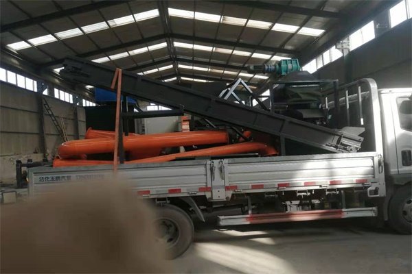 SY-C-600 Aluminum and Copper wire recycling machine shipped to UAE